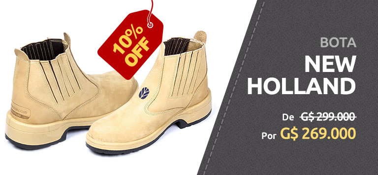 Bota New Holland Amarillo - 10% OFF - ₲ 269.000 - AgroCenter