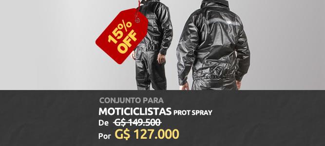 Conjunto Para Motociclistas Prot Spray - 15% OFF - ₲ 127.000 - AgroCenter