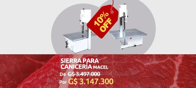 Sierra Para Carnicería Mecel - 10% OFF - ₲ 3.147.300 - AgroCenter