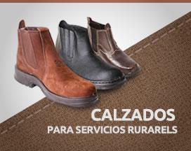 Calzados para servicios rurales